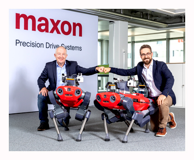 motion control - maxon to supply drive systems